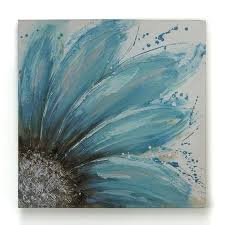 decoration 4 consider sketching a blue sunflower on grey sheet easy canvas painting ideas canvases
