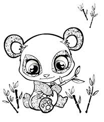 Small Picture Coloring Pages Of Pandas Free Images Coloring Coloring Pages Of