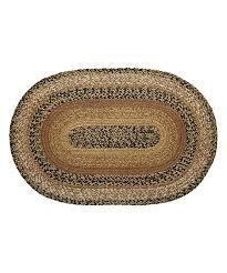 all gone caramel oval jute rug