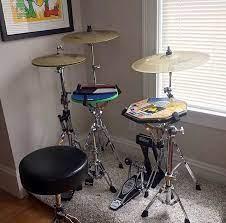 practice drum kit diy drums