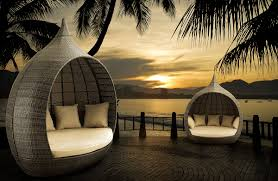 Round Outdoor Bed 10 Outdoor Daybeds Youll Want To Use Indoors