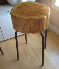 Tree Stump Seats Home Design Walnut Tree Stump Seat Table With Regard To Stools