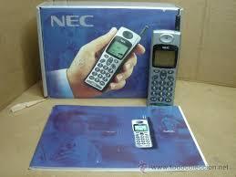 antiguo telefono movil - nec db2000 ...