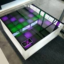 interactive led coffee table interactive led coffee table lights up