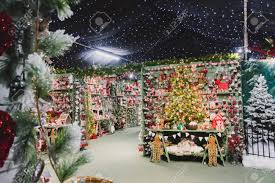 stock photo whitchurch bristol uk november 19 2016 decorations on in whitehall garden centre near lacock in wiltshire