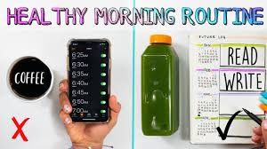 🔅My 5AM Healthy Morning Routine✨How To Be Happier & More Productive in  2019! 🌈 - YouTube