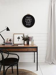 one girl interiors desire to inspire home office tablewood office deskoffice