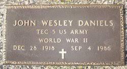 John Wesley Daniels (1918-1986) - Find A Grave Memorial