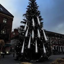 Falling Christmas Tree Lights Falling Rain Lights Adecorty Meteor Shower Lights