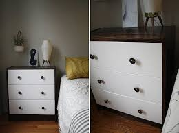Changing up the Rast is nothing new. We noted Kate's Ikea Rast Dresser Hack  almost five years ago. And we still love the two tone look.