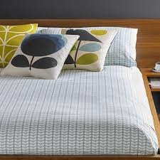 tiny stem duvet cover duck egg double orla kiely