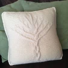 Tree Of Life Cushion Cover Pdf Knitting Pattern