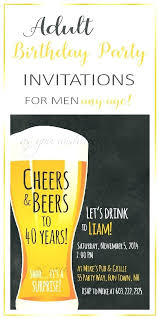 Mens Birthday Invitations 30th Surprise Party Invitations Thirtieth Birthday Invitations