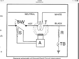 gfci breaker wiring schematic wiring diagrams square d 2 pole gfci breaker wiring diagram nodasystech