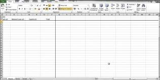 How To Make A Monthly Budget On Excel Monthly Budget Template Excel Monthly Spreadsheet Template