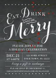 Corporate Christmas Party Invitation Templates Jaxos Co