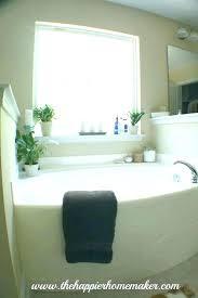 corner garden tub bathroom trendy light blue decorating ideas stylish dimensions sizes with shower tubs for garden tub ideas