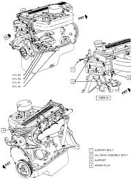 repair guides routine maintenance and tune up spark plug wires Spark Plug Wire Harness 2 spark plug wire harness assembly routing 1988 92 2 0l and 2 2l (vin g) engines jeep patriot spark plug wire harness
