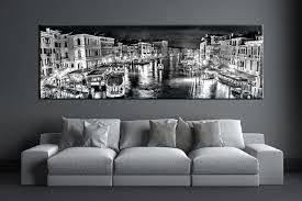 large black white canvas wall art