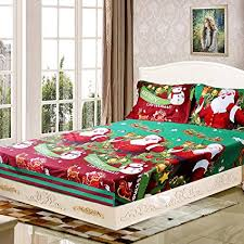 pillow sets for bed. Perfect Bed Anself 4PCS Christmas Bedding Sets Bed Sheet  Quilt Cover Pillow Case  Twin To Sets For S