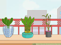 image titled decorate small. Image Titled Decorate Small Apartment Balconies Step 13 Z