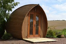 garden pod office. Tiny, Enclosed Pod Offices For The Post-apocalyptic Web Worker Garden Office _