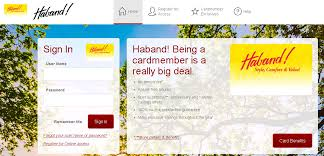 net haband haband credit card payment options