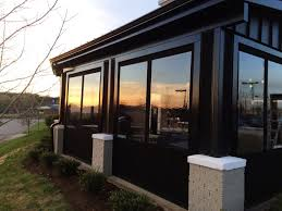Photo 4 of 12 OUTDOOR DINING FOR ANY SEASON WITH PATIO ENCLOSURES | Alpha  Canvas & Awning (awesome Awning