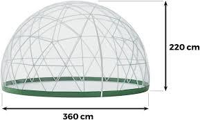 garden igloo. Garden Igloo Hat Einen Durchmesser Von 360 Cm Und Eine Höhe Max. 220 Cm. Zwei Fenster Sorgen Für Die Optimale Belüftung. I