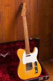 Fender Custom Shop Designed Telecaster Fender Custom Shop 50s Relic Telecaster In Butterscotch