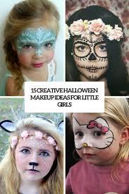 makeup for little girls. 15 creative halloween makeup ideas for little girls