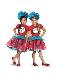 thing 1 and 2 tutu child costume exclusively at spirit be a quirkier you