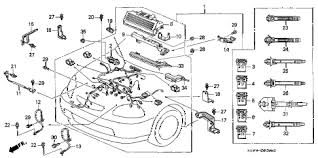honda online store 1997 civic engine wire harness parts Wire Harness Assembly Drawings 1997 civic dx(abs) 2 door 5mt engine wire harness diagram