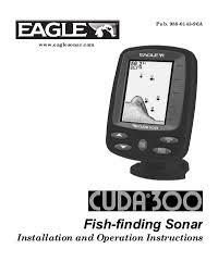 cuda 300 manual eagle Cuda 128 Cuda 168 Transducer Wire Diagram #48