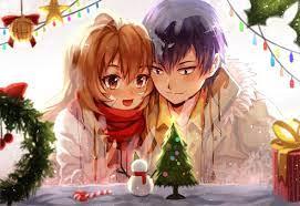 Christmas/Holiday Anime Backgrounds: anime