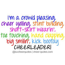 Cheerleading Quotes Beauteous Funny Cheerleading Quotes And Sayings