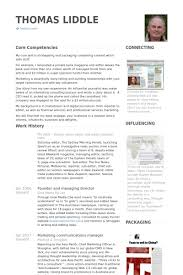 Marketing & Communications Manager Resume Samples - Visualcv Resume ...