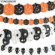 1Set <b>Halloween</b> Party Decoration Black Orange Pumpkin Spider Bat ...