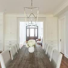 gray wood dining table. Reclaimed Wood Dining Table With Light Gray Chairs