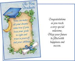 36003 Six Graduation General Greeting Cards With Six Envelopes