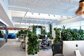 modern office images. The Central Park Workspace Has Living Walls, Which Are Meant To Bring Nature Into Office. Image: Tom Dixon Modern Office Images