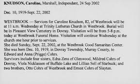 Example Obituary - Tier.brianhenry.co