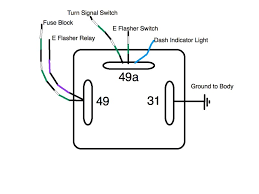 3 pole flasher wiring diagram 3 prong turn signal flasher wiring 3 image wiring thesamba com split bus view topic flasher