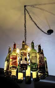 Wine Bottle Light Fixture Wine Bottle Light Fixtures Aneilve