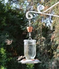 diy hummingbird feeder ant guard 01