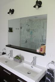 How to Install a Bathroom Mirror without Brackets