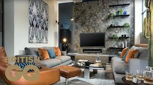 Bachelor Living Room Design How To Style Your Living Room With Designer Daniel Hopwood Gq Bachelor Pad British Gq