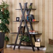Bookshelves Living Room Impressive Modern 48Shelf Bookcase Bookshelf Display Shelves Home Office Living R