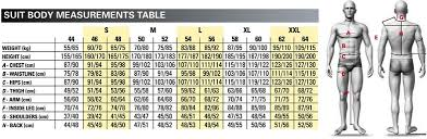 Omp Kart Suit Size Chart Omp Ks 3 Karting Suit Winding Road Racing