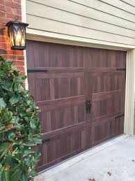 chi garage doors accents collection carriage house long panel gany